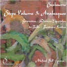 Steps Volume 3 - Arabesques, played by Michael Bell piano. This CD was warmly reviewed in Gramophone Magazine in September 2103. It is a collaboration with my aunt, painter Ann Seabourne www.annseabourne.co.uk - It is found on Discovery Records, Amazon, Crotchet, MDT, Presto Classics and many other online CD retailers.