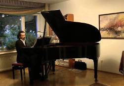 Giovanni Santini performing Seabourne Steps Volume 2: Studies of Invention