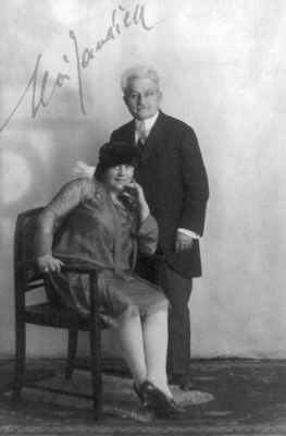 "Leos Janacek and his muse, Kamilla Stosslova - inspiration for Seabourne ""accept these few roses"""