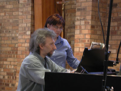 Karen Radcliffe, soprano, and Michael Bell, piano
